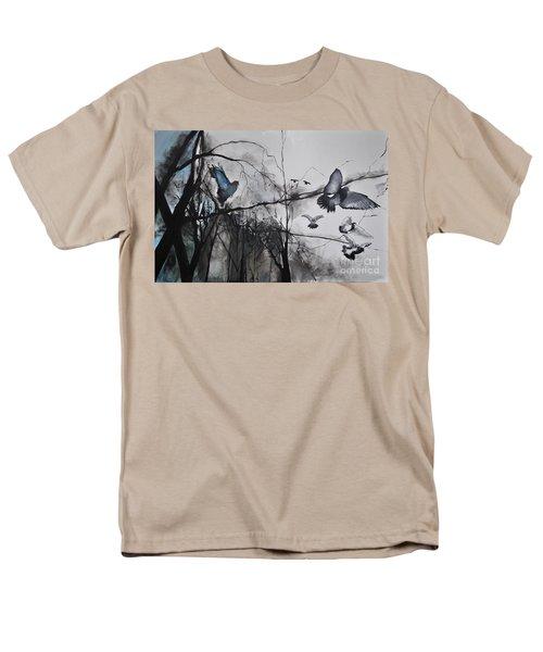 Birds Men's T-Shirt  (Regular Fit) by Maja Sokolowska