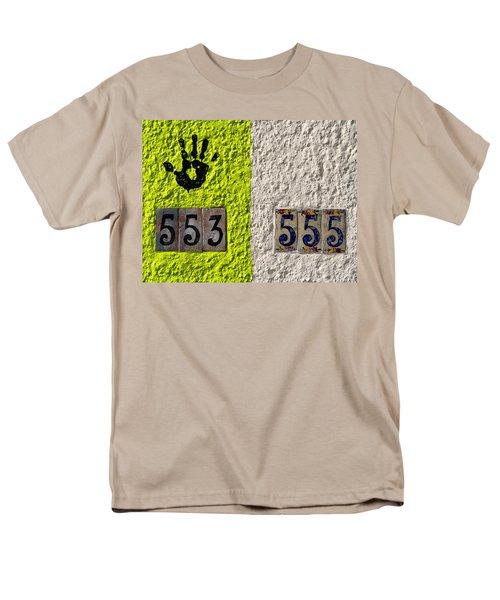 Men's T-Shirt  (Regular Fit) featuring the photograph Black Hand by Joe Kozlowski