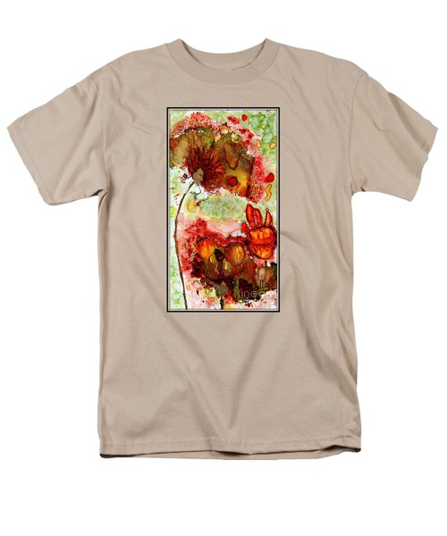 Blooming Impressions.. Men's T-Shirt  (Regular Fit) by Jolanta Anna Karolska