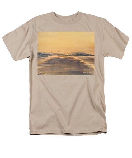 Blue Anchor Sunset Men's T-Shirt  (Regular Fit) by Martin Howard