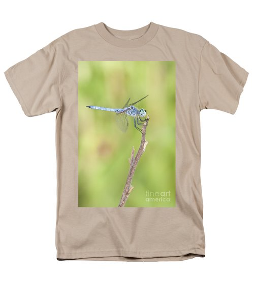 Men's T-Shirt  (Regular Fit) featuring the photograph Blue Dasher by Bryan Keil