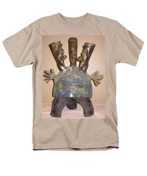 Blue Man - Group Men's T-Shirt  (Regular Fit) by Mario Perron