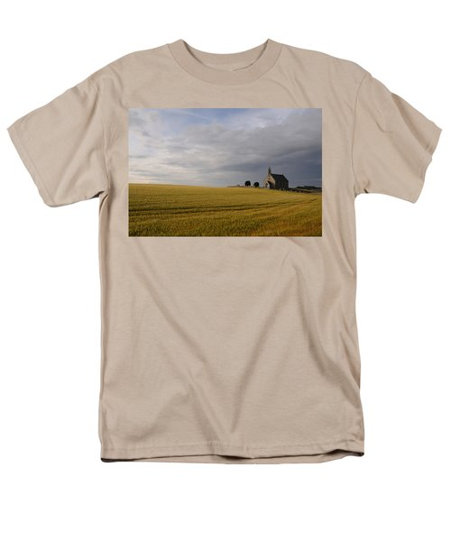 Men's T-Shirt  (Regular Fit) featuring the photograph Boarhills Church by Jeremy Voisey