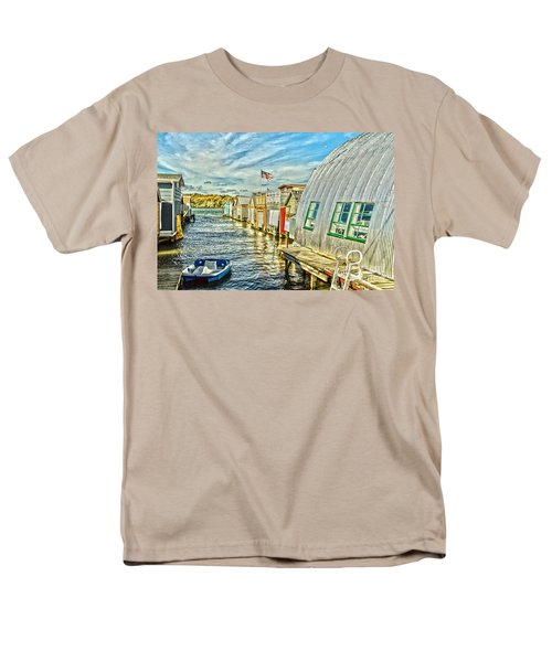 Boathouse Alley Men's T-Shirt  (Regular Fit)