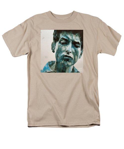 Bob Dylan Men's T-Shirt  (Regular Fit) by Paul Lovering