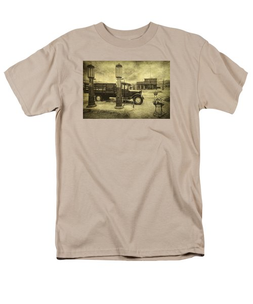 Men's T-Shirt  (Regular Fit) featuring the photograph Bodie Memories by Priscilla Burgers