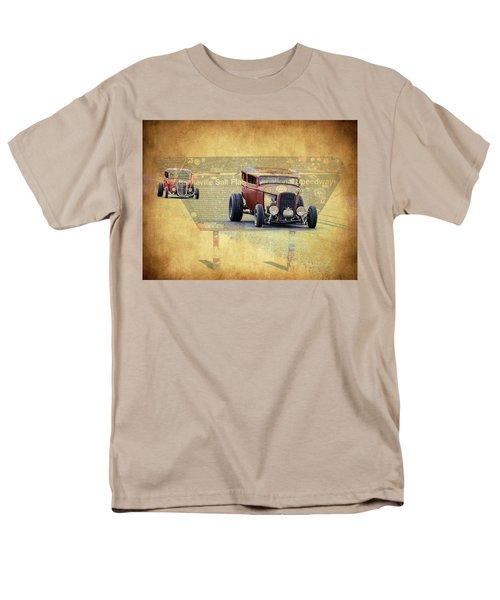 Bonneville Rodz Men's T-Shirt  (Regular Fit) by Steve McKinzie