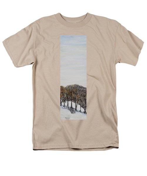 Men's T-Shirt  (Regular Fit) featuring the painting Branch Broken by Marilyn  McNish