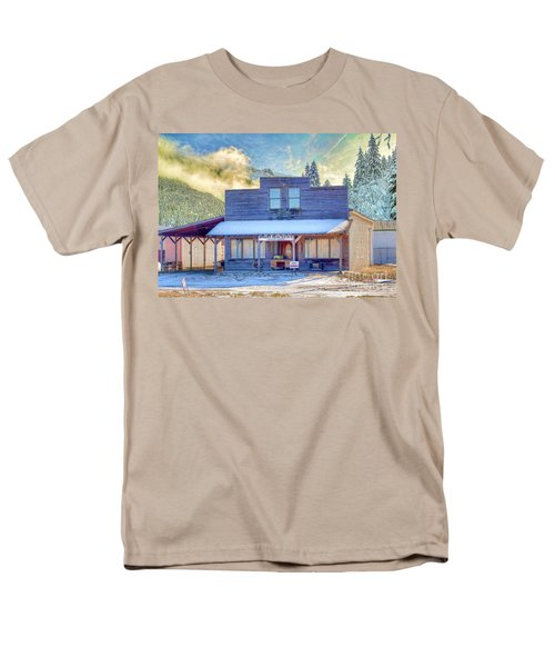 Brauer Real Estate Linwood Kansas Men's T-Shirt  (Regular Fit) by Liane Wright