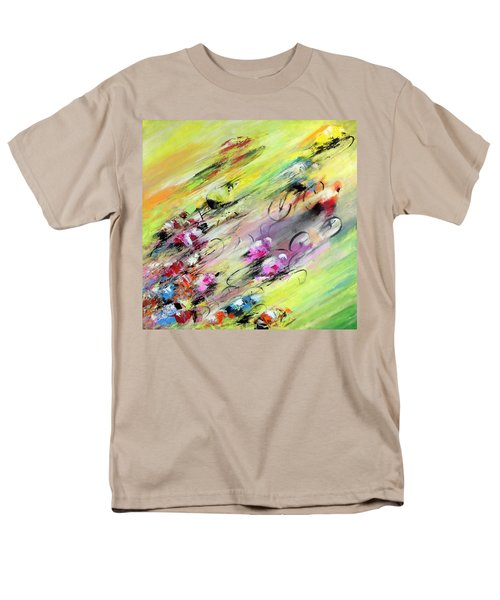 Breaking Away Men's T-Shirt  (Regular Fit) by Miki De Goodaboom
