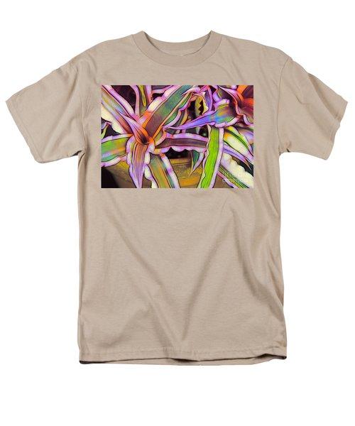 Bromeliads Men's T-Shirt  (Regular Fit) by Judi Bagwell