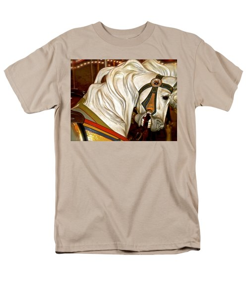 Men's T-Shirt  (Regular Fit) featuring the photograph Brooklyn Hobby Horse by Joan Reese
