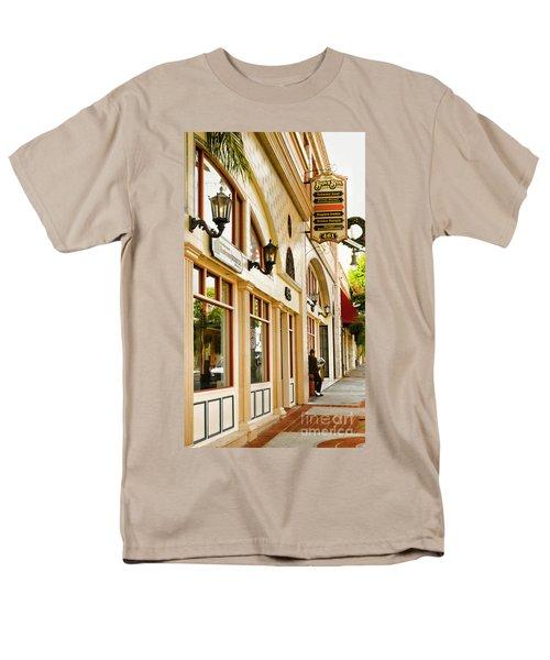 Brown Bros Building Men's T-Shirt  (Regular Fit) by Donna Greene