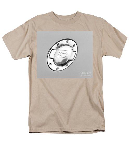 Men's T-Shirt  (Regular Fit) featuring the photograph Bugatti Fuel Cap by Matt Malloy