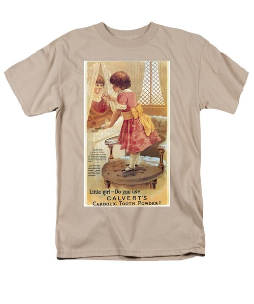 Men's T-Shirt  (Regular Fit) featuring the photograph Carlvert's Carbolic Tooth Powder Ad by Gianfranco Weiss