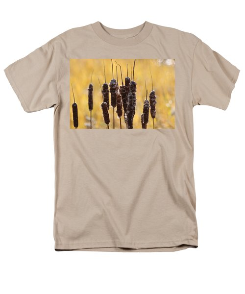 Cat Tails In November Men's T-Shirt  (Regular Fit) by Bruce Patrick Smith