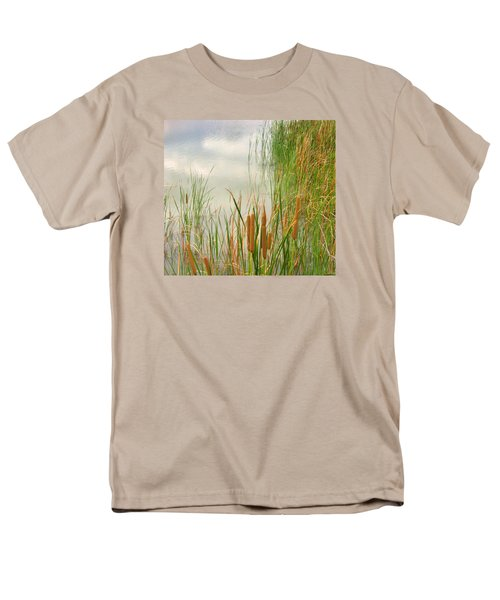 Cattails Men's T-Shirt  (Regular Fit) by Marilyn Diaz