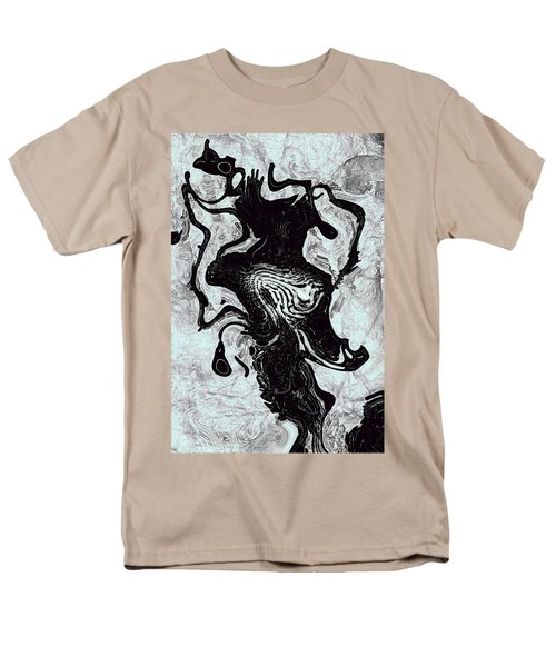 Men's T-Shirt  (Regular Fit) featuring the digital art Chanteuse by Richard Thomas