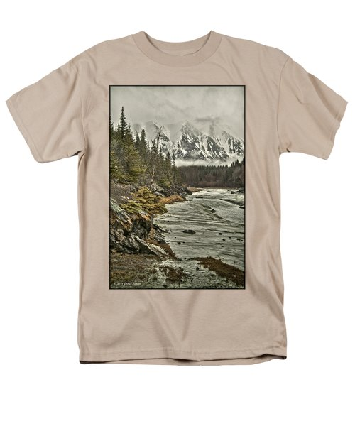 Chugach Range Men's T-Shirt  (Regular Fit)
