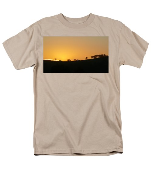 Men's T-Shirt  (Regular Fit) featuring the photograph Clarkes Road by Evelyn Tambour