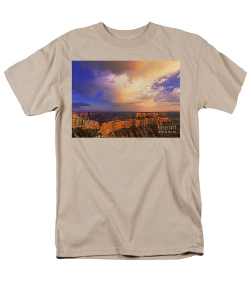 Clearing Storm Cape Royal North Rim Grand Canyon Np Arizona Men's T-Shirt  (Regular Fit) by Dave Welling