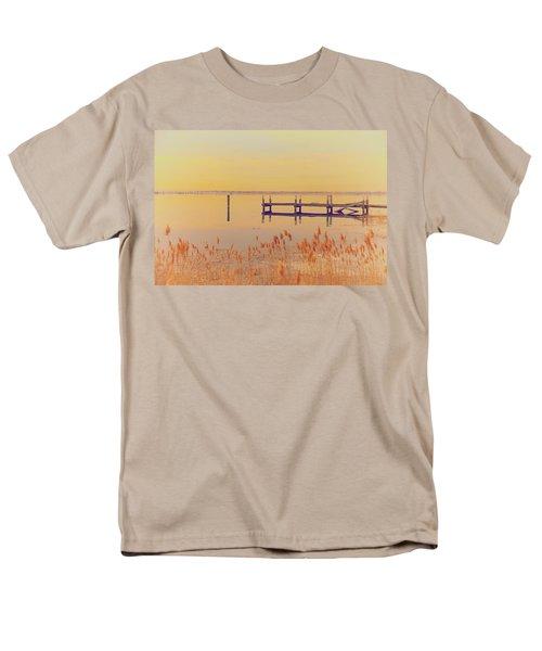 Coastal Winter Men's T-Shirt  (Regular Fit) by Karol Livote