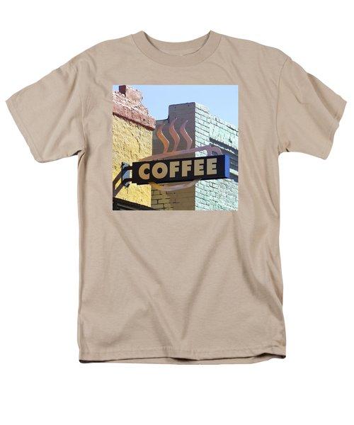 Coffee Shop Men's T-Shirt  (Regular Fit) by Art Block Collections