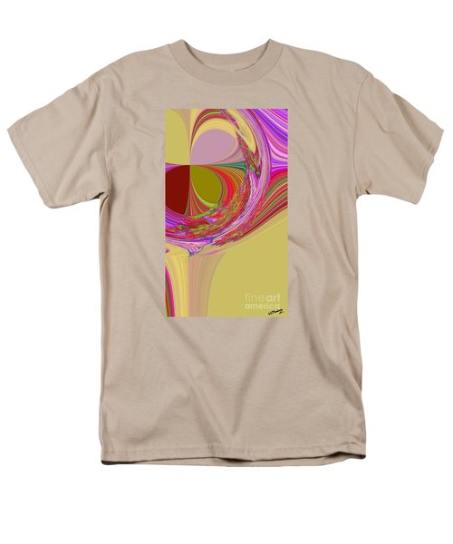 Color Symphony Men's T-Shirt  (Regular Fit) by Loredana Messina