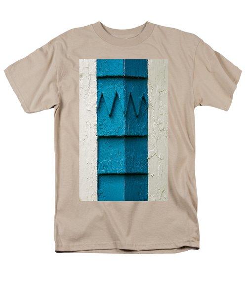 Corner Detail Men's T-Shirt  (Regular Fit)