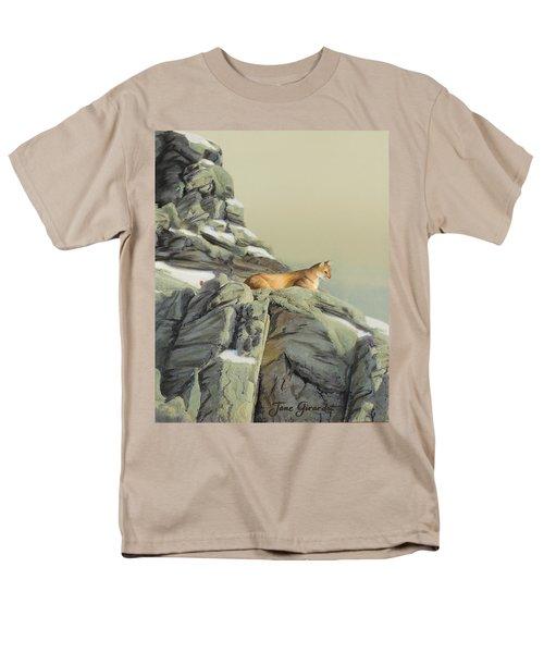 Cougar Perch Men's T-Shirt  (Regular Fit)