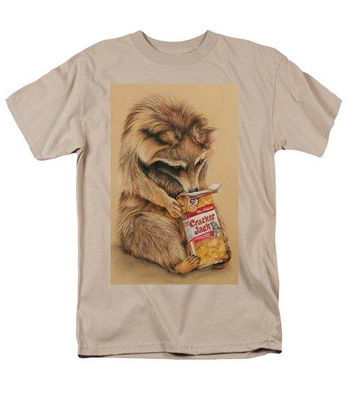 Cracker Jack Bandit Men's T-Shirt  (Regular Fit) by Jean Cormier