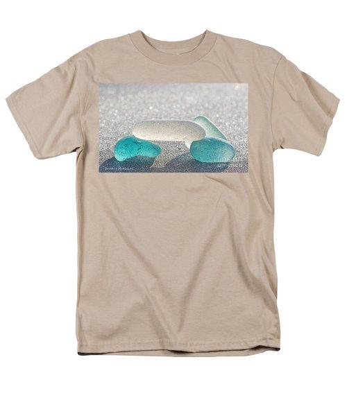 Cross This Bridge When.... Men's T-Shirt  (Regular Fit) by Barbara McMahon