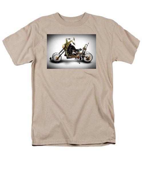 Custom Band II Men's T-Shirt  (Regular Fit) by Alessandro Della Pietra