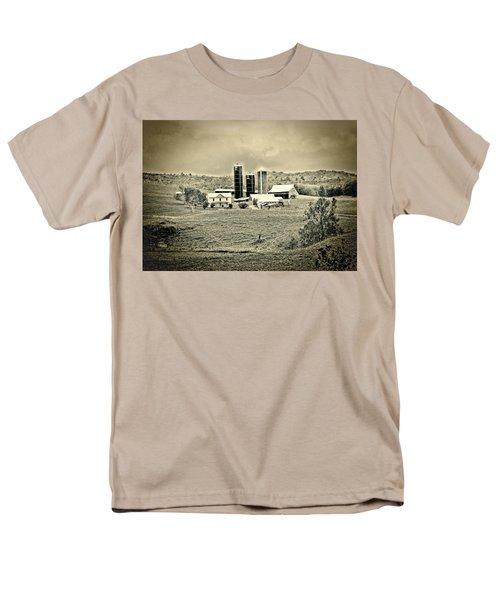 Dairy Farm Men's T-Shirt  (Regular Fit) by Denise Romano