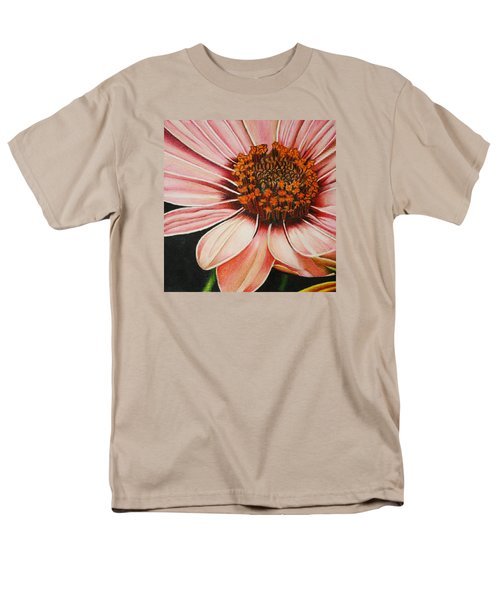 Daisy In Pink Men's T-Shirt  (Regular Fit) by Bruce Bley