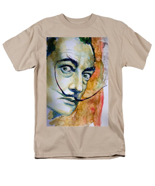 Men's T-Shirt  (Regular Fit) featuring the painting Dali by Laur Iduc