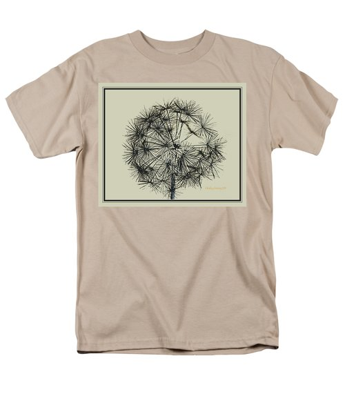 Dandelion 6 Men's T-Shirt  (Regular Fit) by Kathy Barney