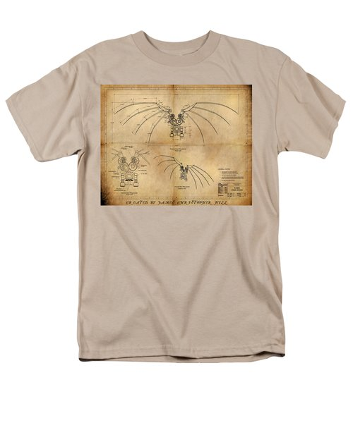 Davinci's Wings Men's T-Shirt  (Regular Fit) by James Christopher Hill