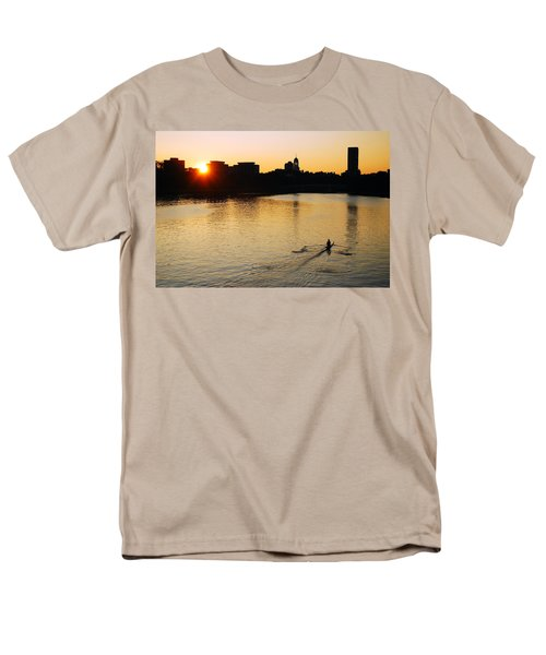 Men's T-Shirt  (Regular Fit) featuring the photograph Dawn On The Charles by James Kirkikis
