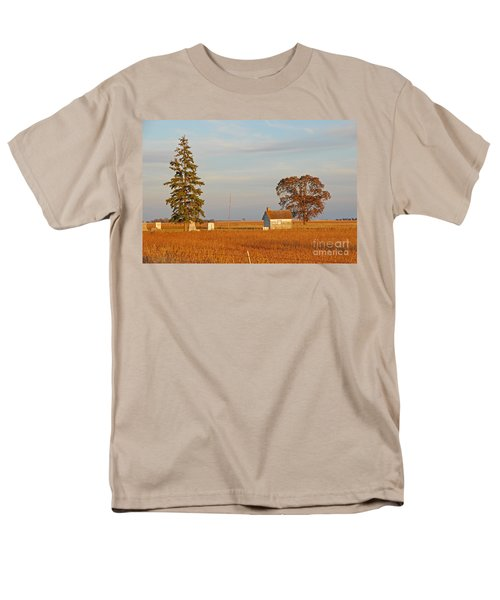 Men's T-Shirt  (Regular Fit) featuring the photograph Days End by Mary Carol Story