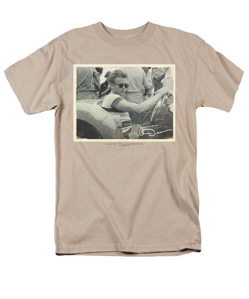 Dean - Race Photo Men's T-Shirt  (Regular Fit) by Brand A