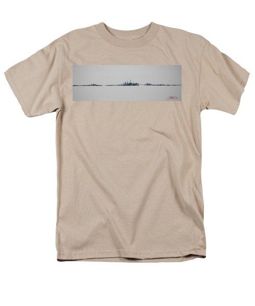 December Sky Men's T-Shirt  (Regular Fit)