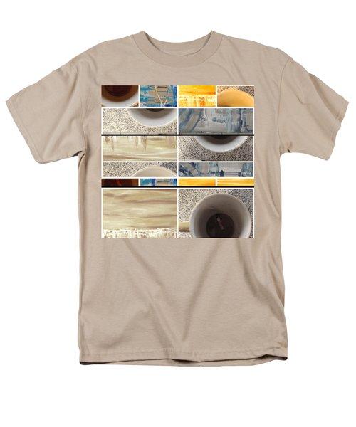 Men's T-Shirt  (Regular Fit) featuring the photograph Defense De Fumer Part Two by Sir Josef - Social Critic - ART