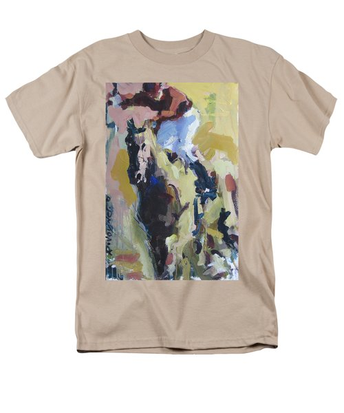 Men's T-Shirt  (Regular Fit) featuring the painting Derby Dwellers by Robert Joyner