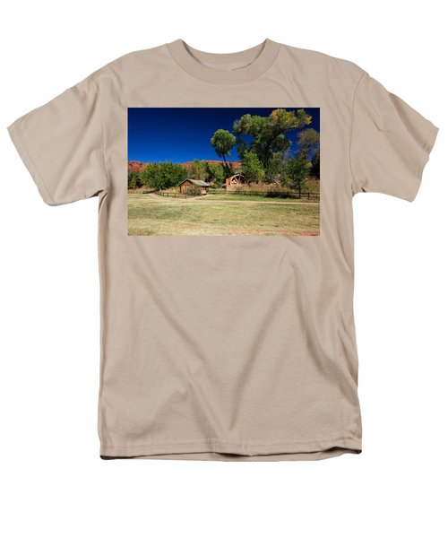 Desert Field Men's T-Shirt  (Regular Fit) by Dave Files