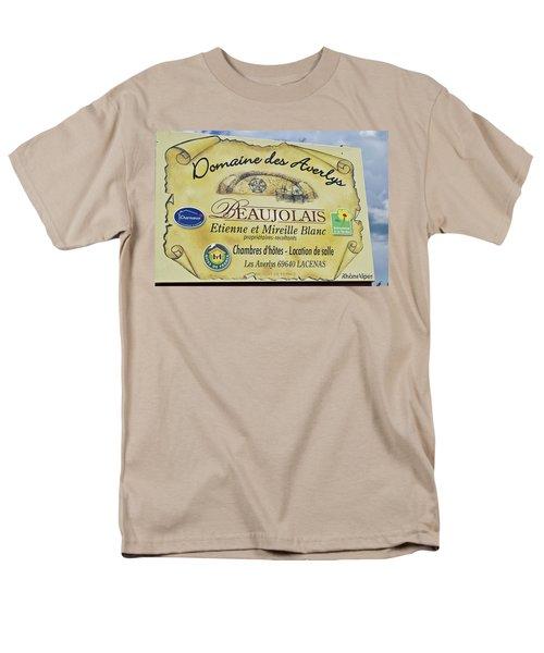 Domaine Des Averlys Men's T-Shirt  (Regular Fit) by Allen Sheffield