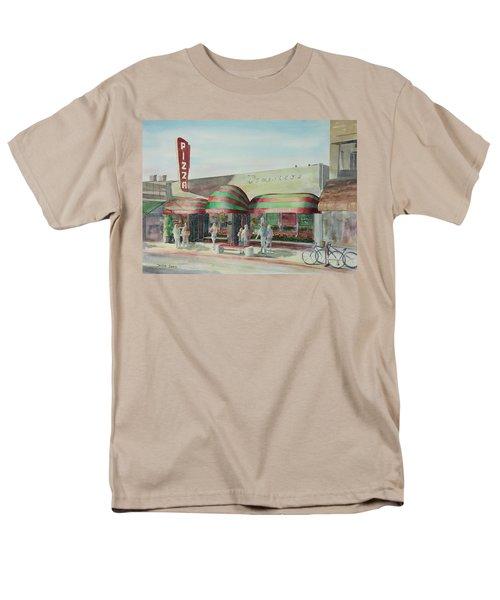 Domenicos In Long Beach Men's T-Shirt  (Regular Fit) by Debbie Lewis