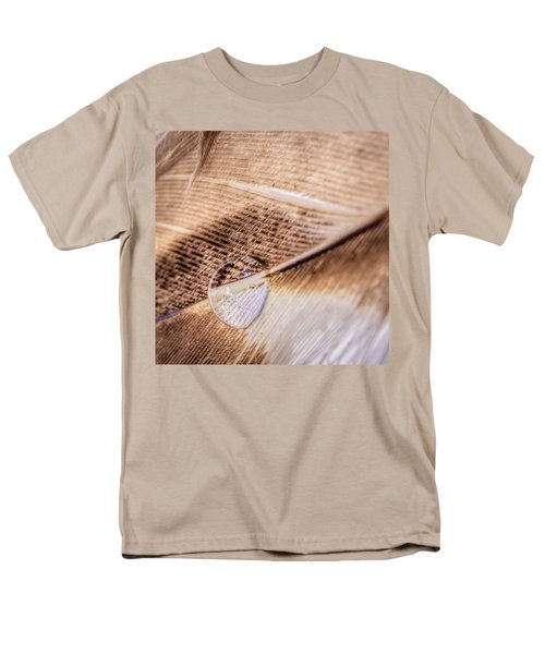 Droplet On A Quill Men's T-Shirt  (Regular Fit) by Rob Sellers