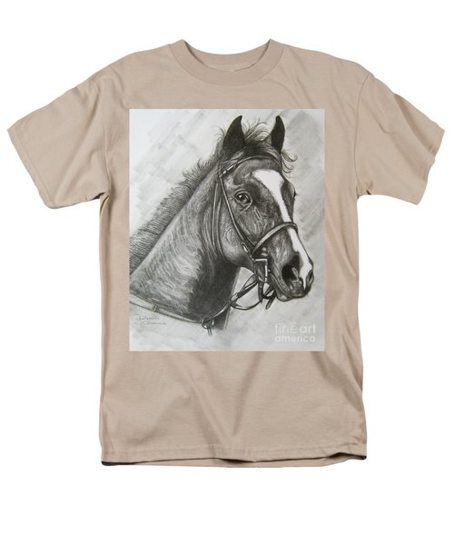 Men's T-Shirt  (Regular Fit) featuring the drawing Dullahan by Patrice Torrillo