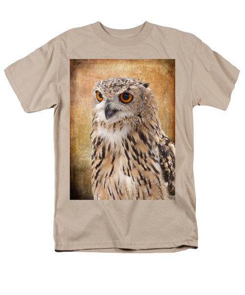 Eagle Owl Men's T-Shirt  (Regular Fit)